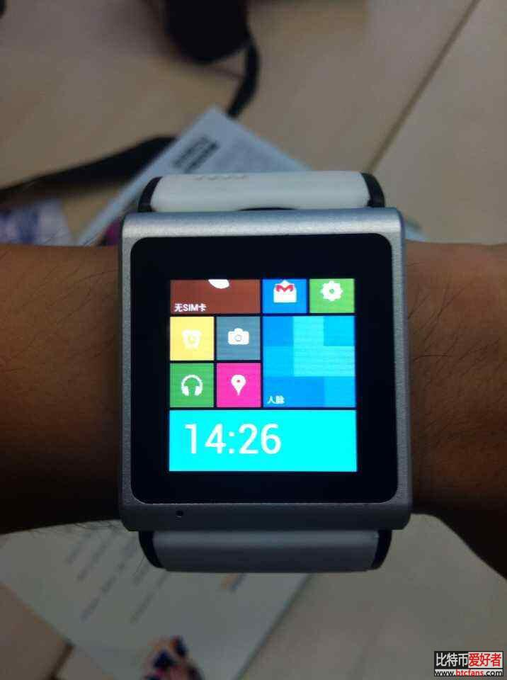 比特币智能手表已经量产上市