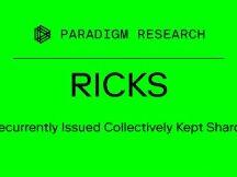 Paradigm新研究:RICKS如何解决NFT碎片化重组及流动性难题
