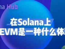 在Solana上使用EVM是一种什么体验?