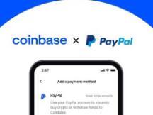 美用户可直接用PayPal在Coinbase买币了