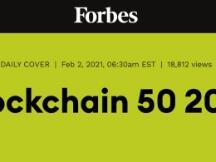 中国建设银行再次入选福布斯区块链50强榜单