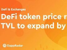 DeFi代币价格上涨导致TVL值扩大13亿美元