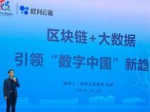 """欧科云链副总裁:区块链+大数据 引领""""数字中国""""新趋势"""