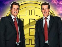 Winklevoss双胞胎声称比特币价格涨到50万美元是不可避免的