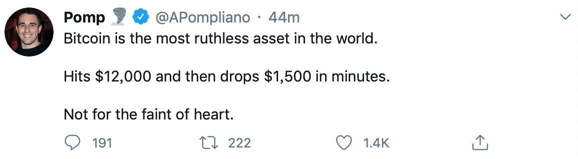 摩根溪创始人:比特币是世界上最无情的资产