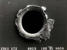 区块链如何保护宇航员在太空漫游时不被宇宙碎片撞到?