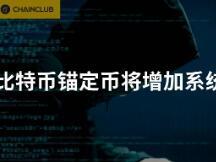 比特币锚定币将增加系统攻击风险