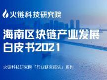 海南区块链产业发展白皮书2021