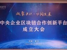 20余家央企联合发起,中央企业区块链合作创新平台正式成立
