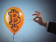 比特币泡沫破裂只是时间问题?