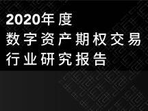 2020 年度数字资产期权交易行业研究报告
