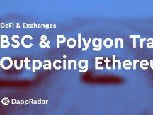 BSC 和Polygond 每日交易超过以太坊