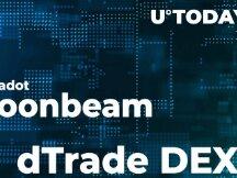 Polkadot Moonbeam 支持dTrade,成为交易速度最快的DEX