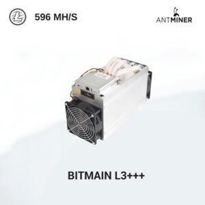 蚂蚁矿机L3++ 莱特币矿机 596 MH/s