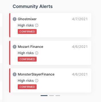 安全公司CertiK:名为Ghostmixer的项目存在高风险