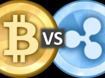 BTC(Bitcoin)比特币 vs. XRP(Ripple)瑞波币:不同货币哲学的碰撞