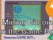 国外小伙用Game Boy掌机挖比特币,挖一枚要数百万年