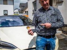 Tesla Taxi Aschaffenburg成为德国首家接受加密支付的出租车公司