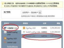如何从中国银联卡转账到BTC-E与MTGOX?