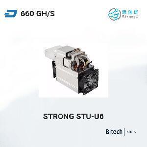 思创优StrongU STU-U6 达世币矿机 440 GH/s