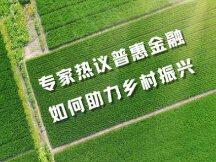 专家热议普惠金融如何助力乡村振兴
