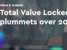 DeFi上锁定的总价值在4天内暴跌超过20%