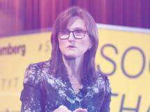 ARK创始人Cathie Wood:对稳定币、DeFi和NFT非常感兴趣