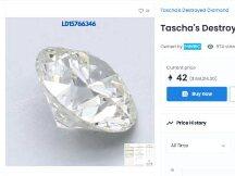 """""""质币分离""""全纪录:她把钻石做成NFT然后砸碎,最终卖了5ETH"""