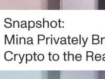 Mina Protocol:连接现实世界和加密世界私有网关的三个用例