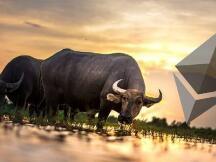 以太币ETH涨幅9.7%,加密货币市场将进入牛市状态?