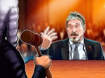 反病毒软件巨头McAfee创始人面临纽约法院关于加密货币欺诈的指控