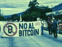 诈骗及洗钱风险仍存 萨尔瓦多比特币法引起公民抗议