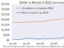 桥水前分析师:预测比特币的顶部太难了,市值有可能超越美元