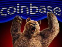 Coinbase 股价持续下跌,加密货币的泡沫开始破裂?