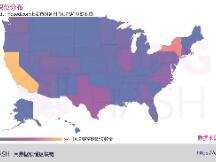 数据解读美国区块链就业市场:加州和纽约州是东西海岸的区块链之都