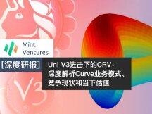 Uni V3进击下的CRV:深度解析Curve业务模式、竞争现状和当下估值