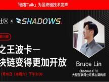 Bruce Lin:未来最有竞争力的两大阵营分别是以太坊2.0和波卡阵营