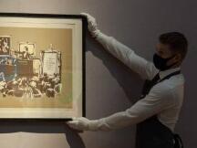 首例:街头艺术家 Banksy 的作品《Mornos》被烧毁并数字化为 NFT